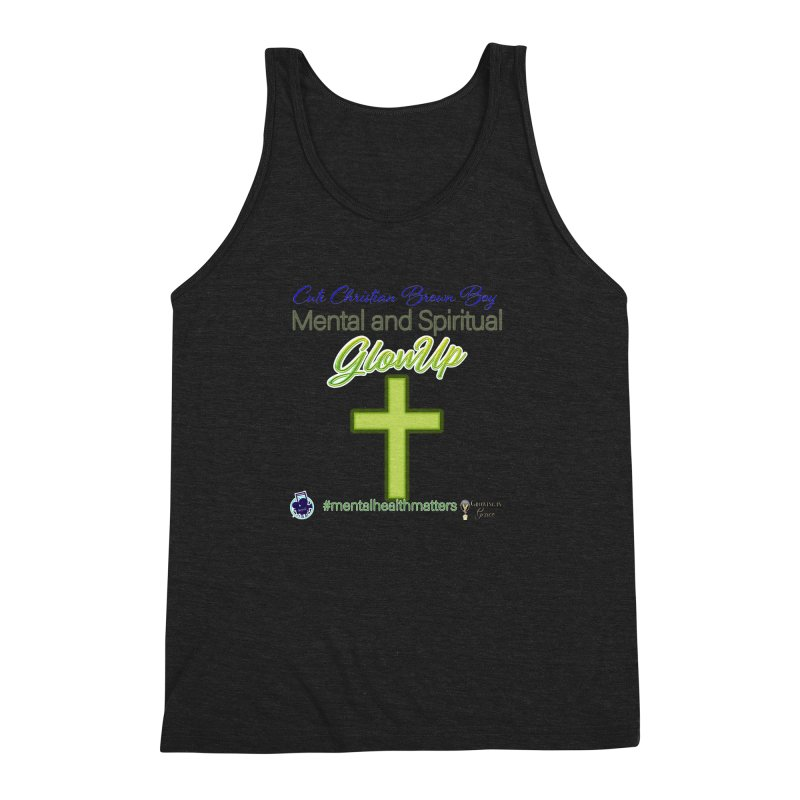 CCBB GlowUp Men's Triblend Tank by I'm Just Seyin' Shoppe