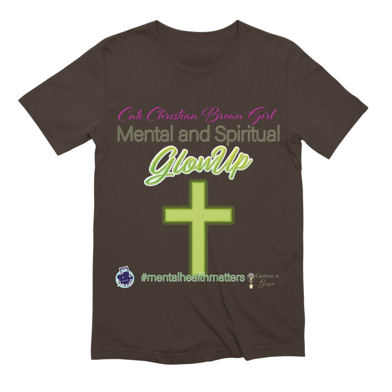 CCBG GlowUp Men's Extra Soft T-Shirt by I'm Just Seyin' Shoppe