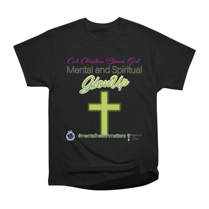CCBG GlowUp Men's Heavyweight T-Shirt by I'm Just Seyin' Shoppe