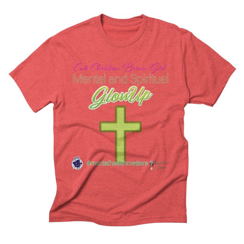CCBG GlowUp Men's Triblend T-Shirt by I'm Just Seyin' Shoppe