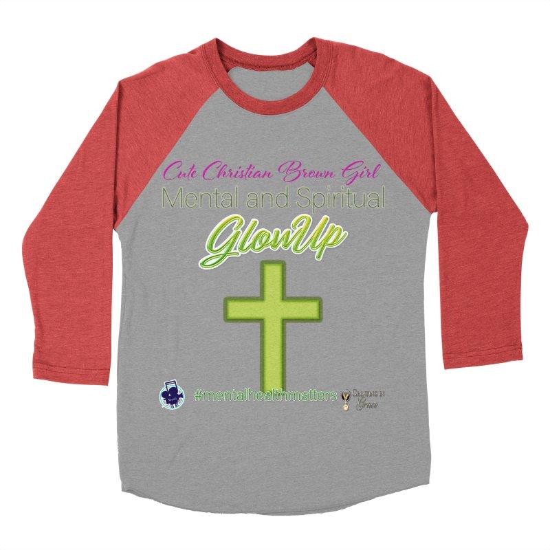 CCBG GlowUp Women's Baseball Triblend Longsleeve T-Shirt by I'm Just Seyin' Shoppe