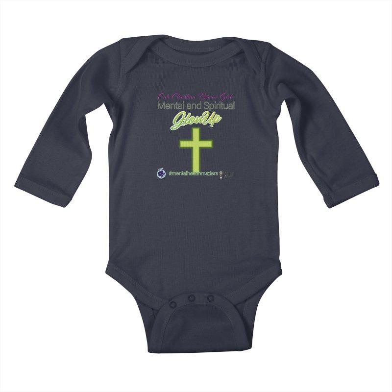 CCBG GlowUp Kids Baby Longsleeve Bodysuit by I'm Just Seyin' Shoppe