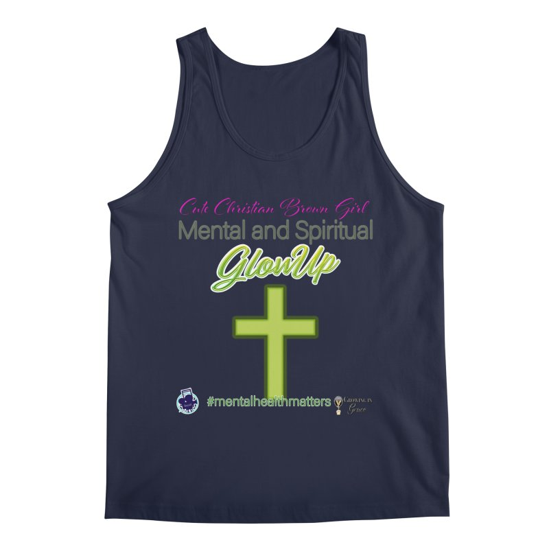 CCBG GlowUp Men's Regular Tank by I'm Just Seyin' Shoppe