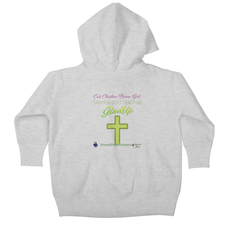 CCBG GlowUp Kids Baby Zip-Up Hoody by I'm Just Seyin' Shoppe