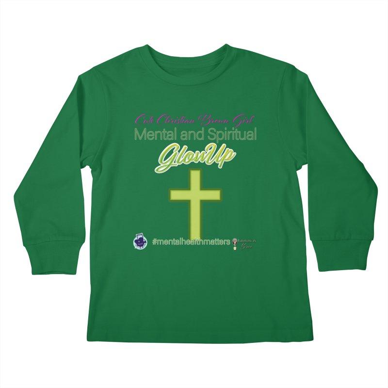CCBG GlowUp Kids Longsleeve T-Shirt by I'm Just Seyin' Shoppe