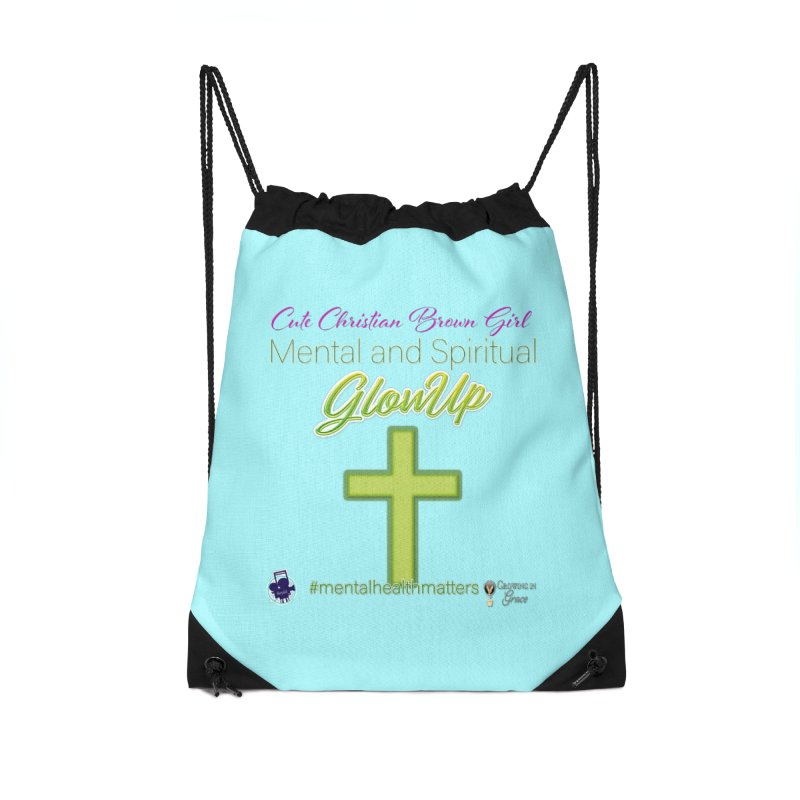 CCBG GlowUp Accessories Drawstring Bag Bag by I'm Just Seyin' Shoppe