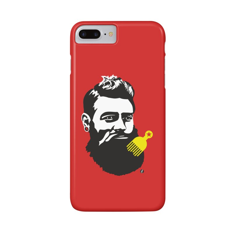 Ned Kelly Original Hipster in iPhone 7 Plus Phone Case Slim by SF Artist Shop