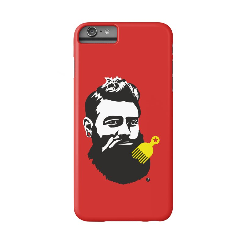 Ned Kelly Original Hipster Accessories Phone Case by SF Artist Shop