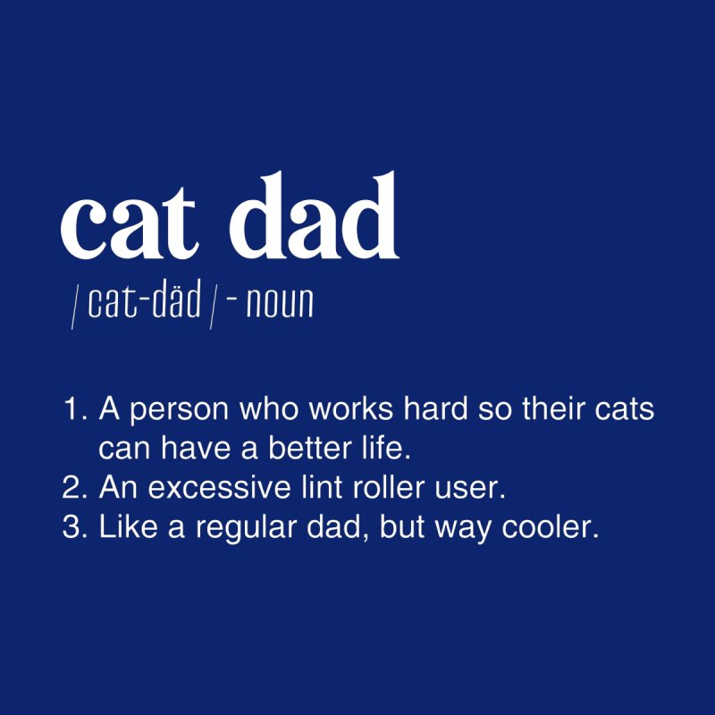 Cat Dad by Sioux Falls Area Humane Society Shop