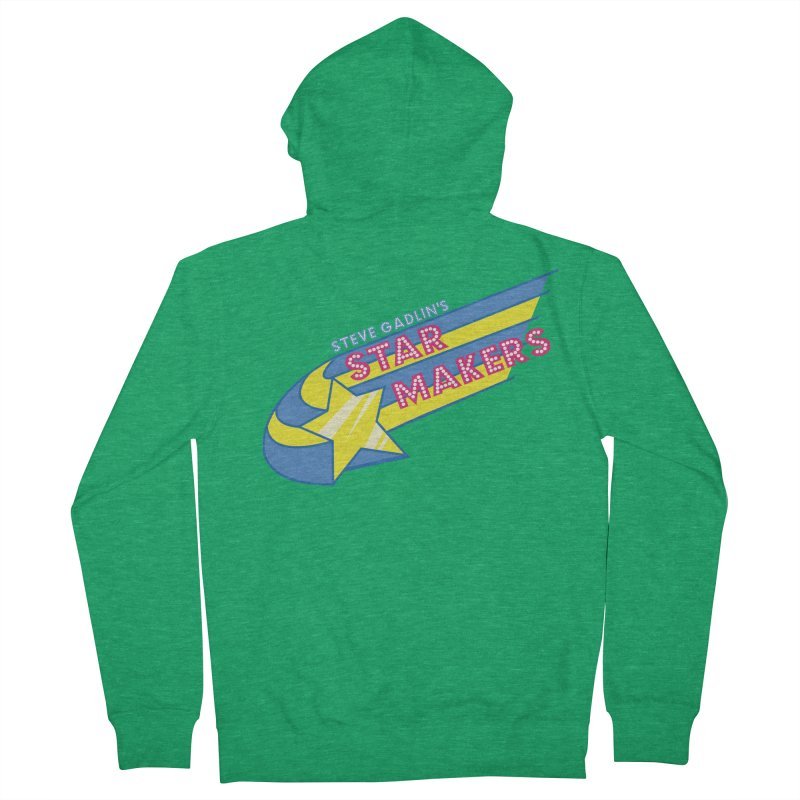 Steve Gadlin's Star Makers Women's French Terry Zip-Up Hoody by Steve Gadlin's Star Makers!