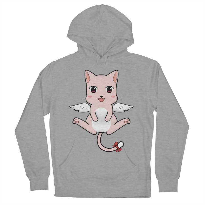 Flying pink cat Women's Pullover Hoody by Shadee's cute shop