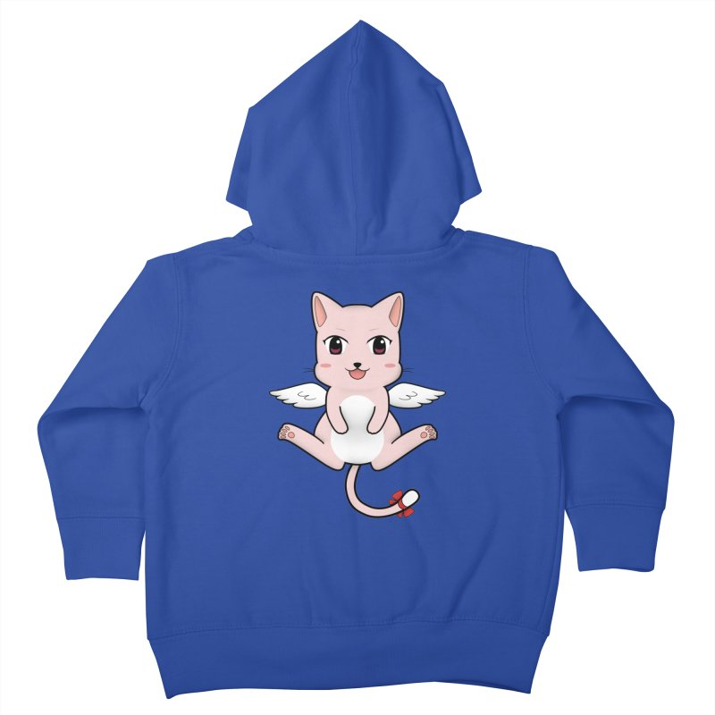 Flying pink cat Kids Toddler Zip-Up Hoody by Shadee's cute shop