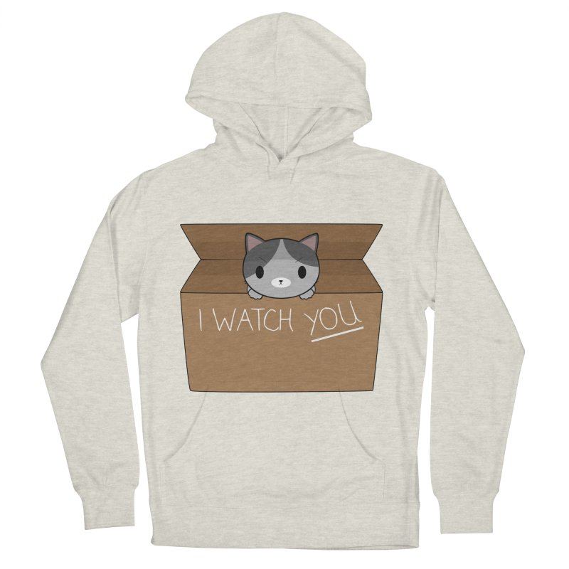 Cats always watch you! Women's French Terry Pullover Hoody by Shadee's cute shop