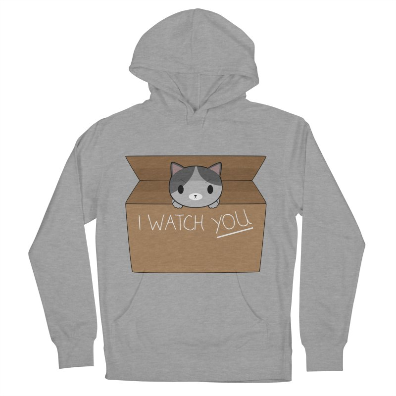 Cats always watch you! Men's Pullover Hoody by Shadee's cute shop