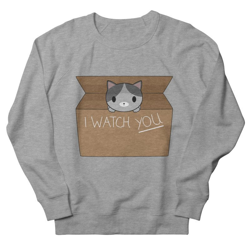 Cats always watch you! Women's French Terry Sweatshirt by Shadee's cute shop