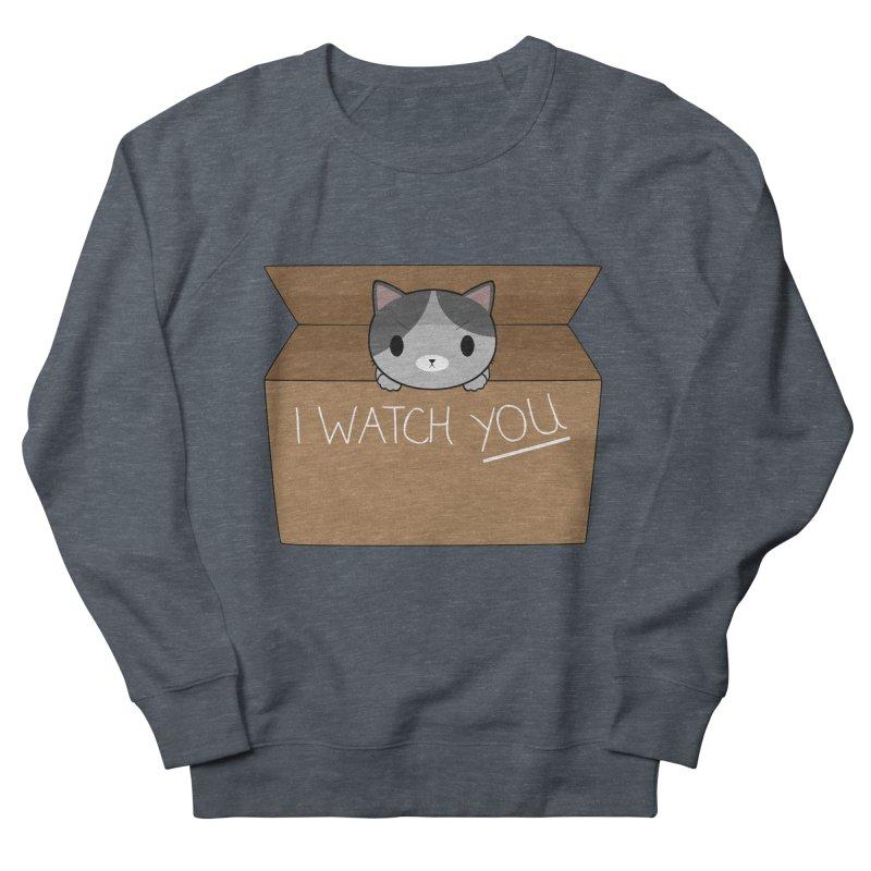 Cats always watch you! Men's Sweatshirt by Shadee's cute shop