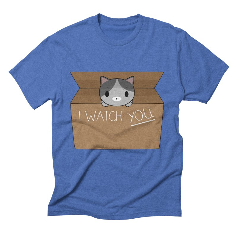 Cats always watch you! Men's Triblend T-Shirt by Shadee's cute shop