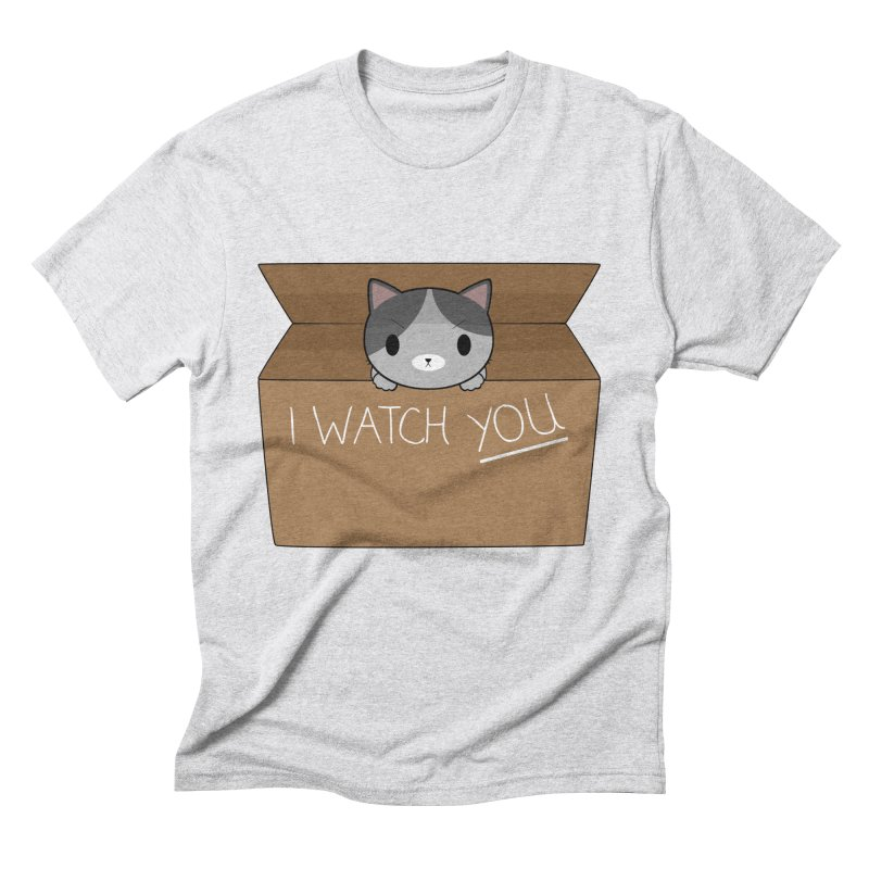 Cats always watch you! Men's Triblend T-Shirt by Shadee's cute shop