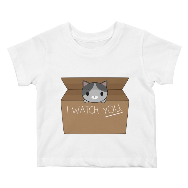 Cats always watch you! Kids Baby T-Shirt by Shadee's cute shop