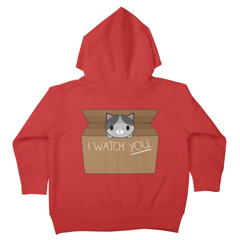 Cats always watch you! Kids Toddler Zip-Up Hoody by Shadee's cute shop
