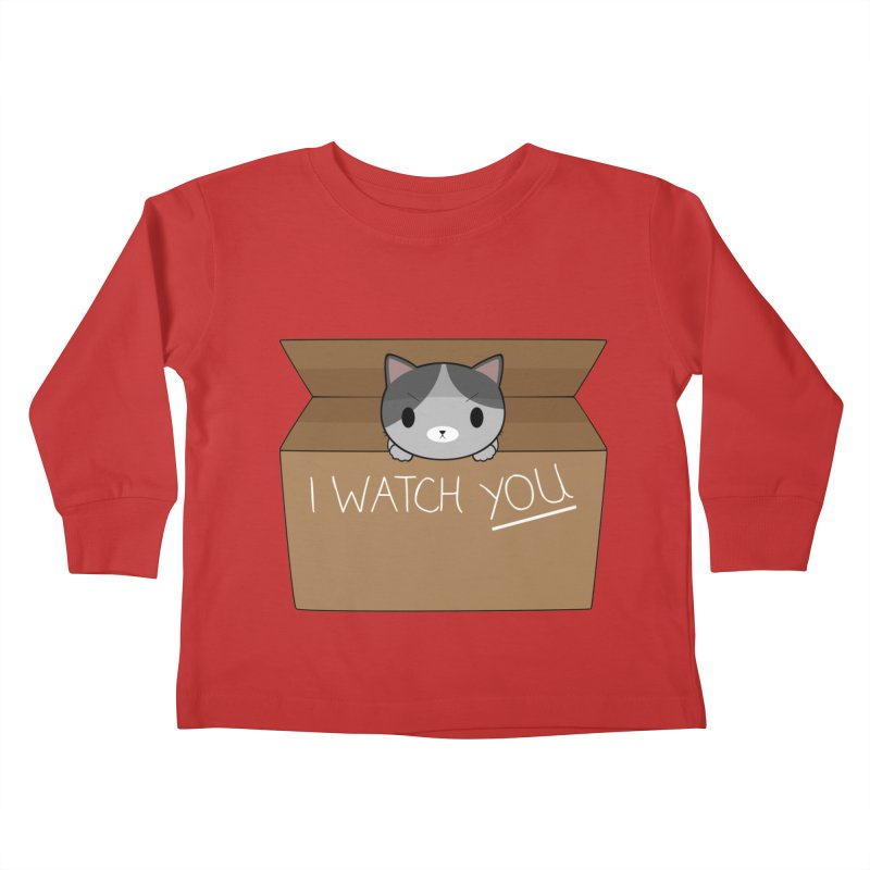 Cats always watch you! Kids Toddler Longsleeve T-Shirt by Shadee's cute shop