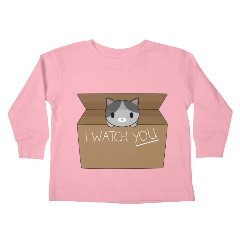 Cats always watch you! Kids Toddler Longsleeve T-Shirt by Shadee's cute shop