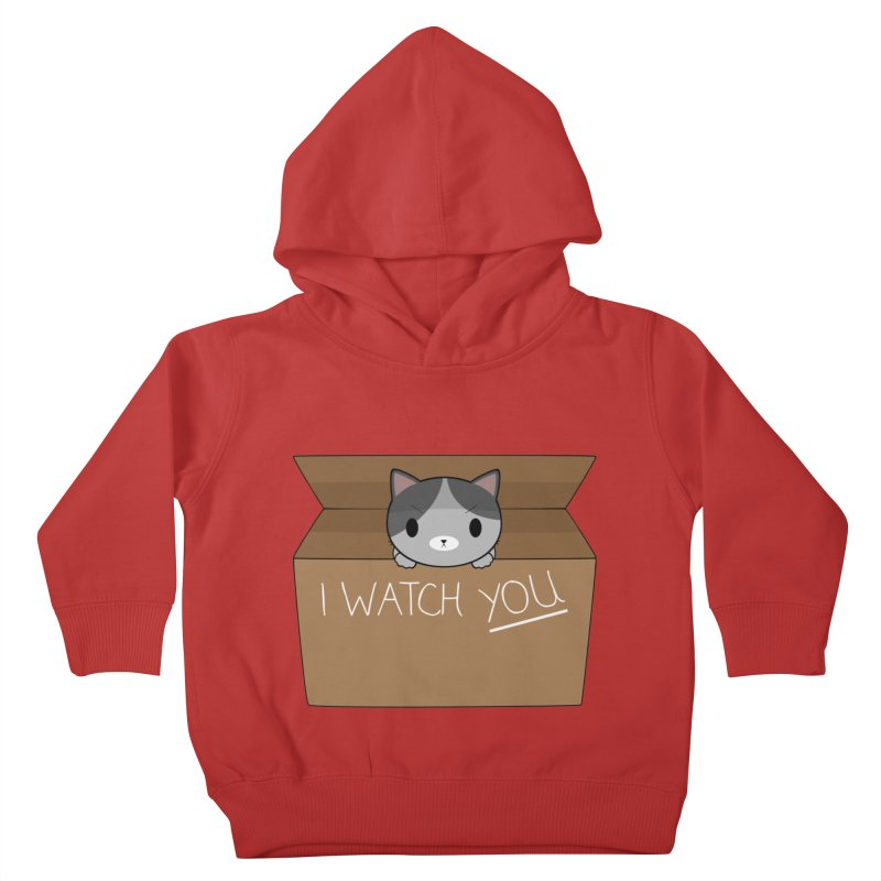Cats always watch you! Kids Toddler Pullover Hoody by Shadee's cute shop