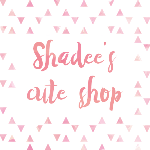 Shadee's cute shop Logo