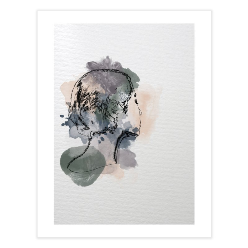 Lady Demure Home Fine Art Print by Shades of Gold
