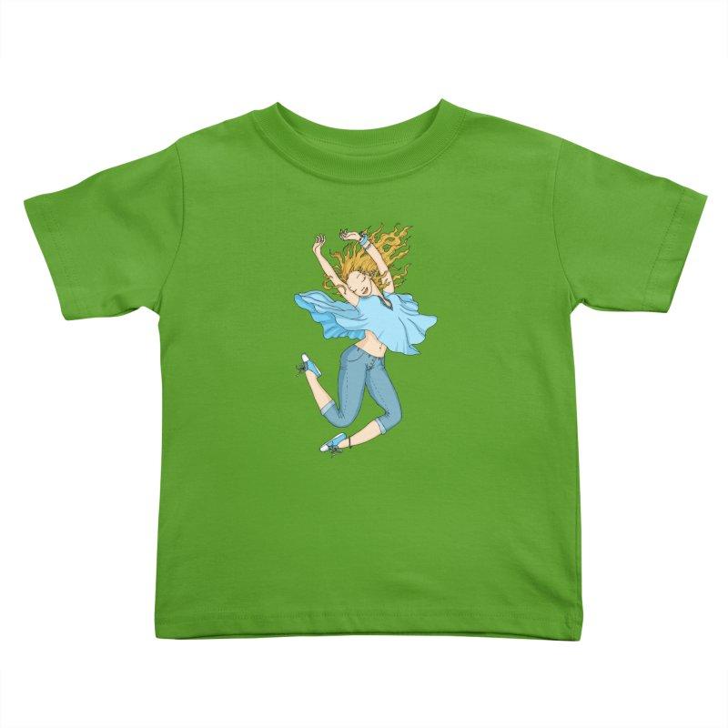 Happyness Kids Toddler T-Shirt by ShadoBado Artist Shop