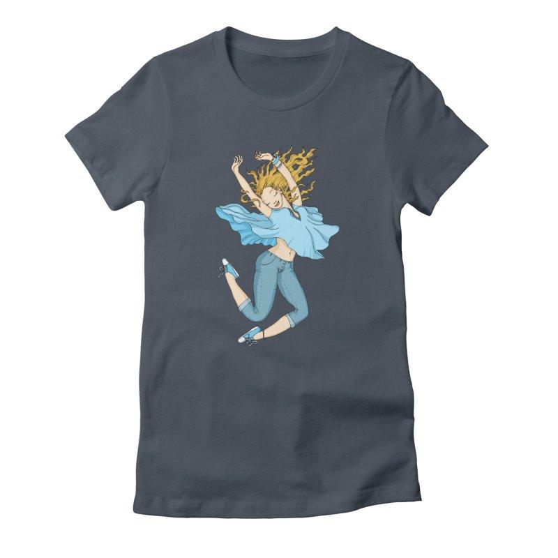 Happyness Women's T-Shirt by ShadoBado Artist Shop