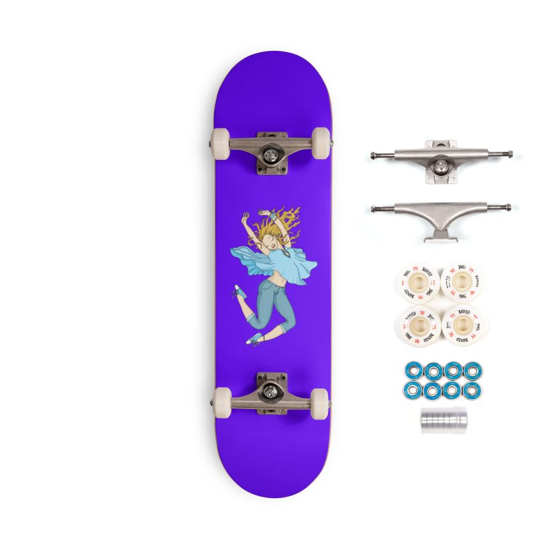 Happyness Accessories Skateboard by ShadoBado Artist Shop