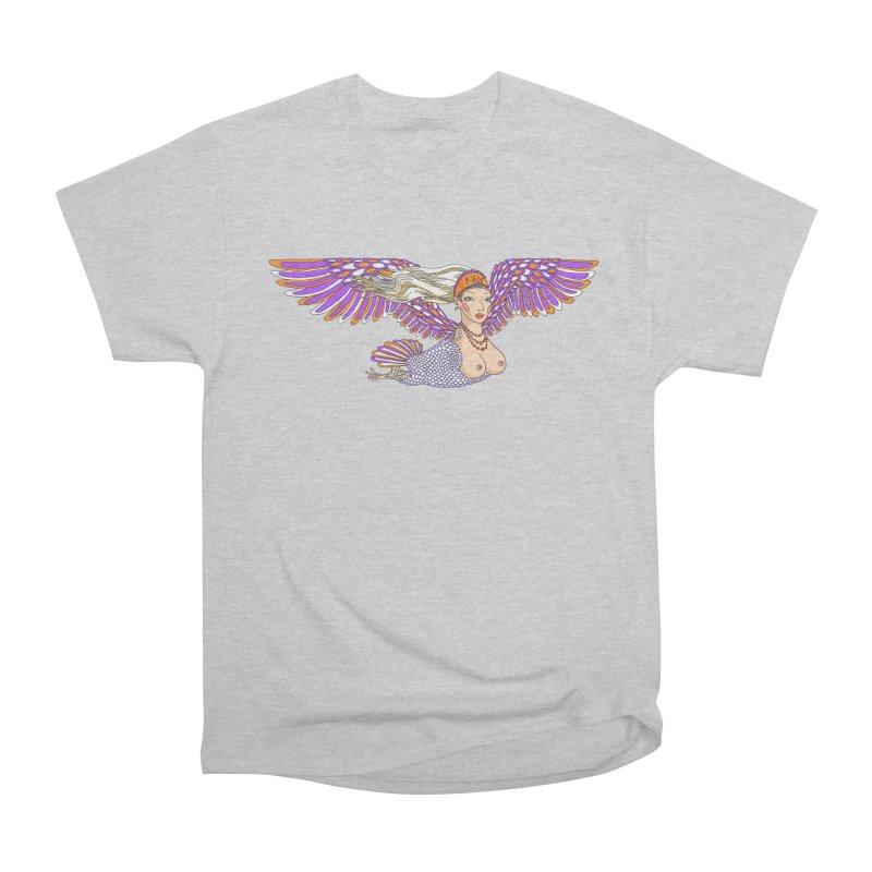 Like a bird Men's T-Shirt by ShadoBado Artist Shop