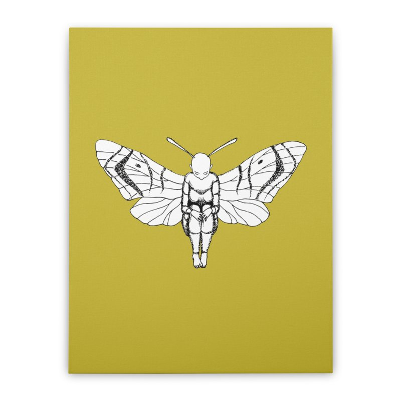 Wings are ready Home Stretched Canvas by ShadoBado Artist Shop