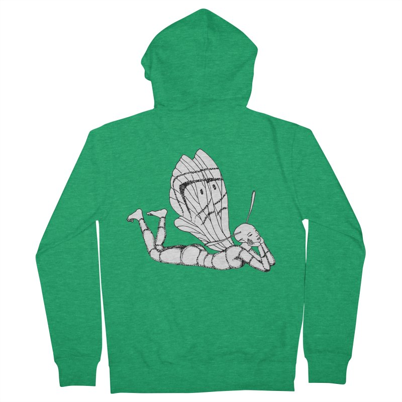 Can fly but didn't try Men's Zip-Up Hoody by ShadoBado Artist Shop