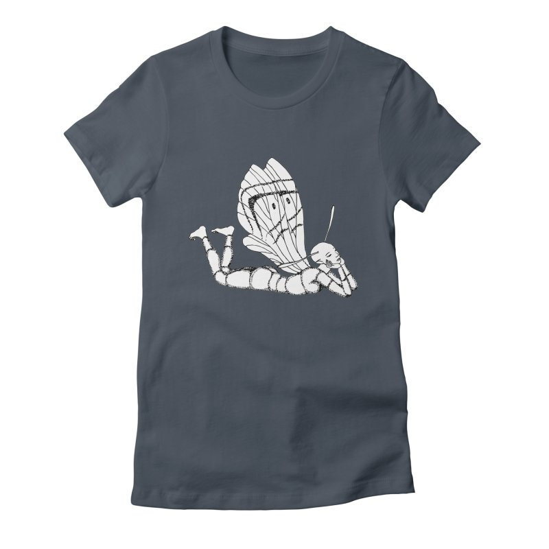 Can fly but didn't try Women's T-Shirt by ShadoBado Artist Shop