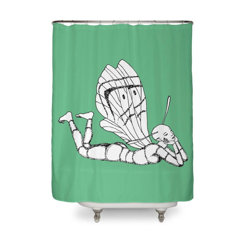 Can fly but didn't try Home Shower Curtain by ShadoBado Artist Shop