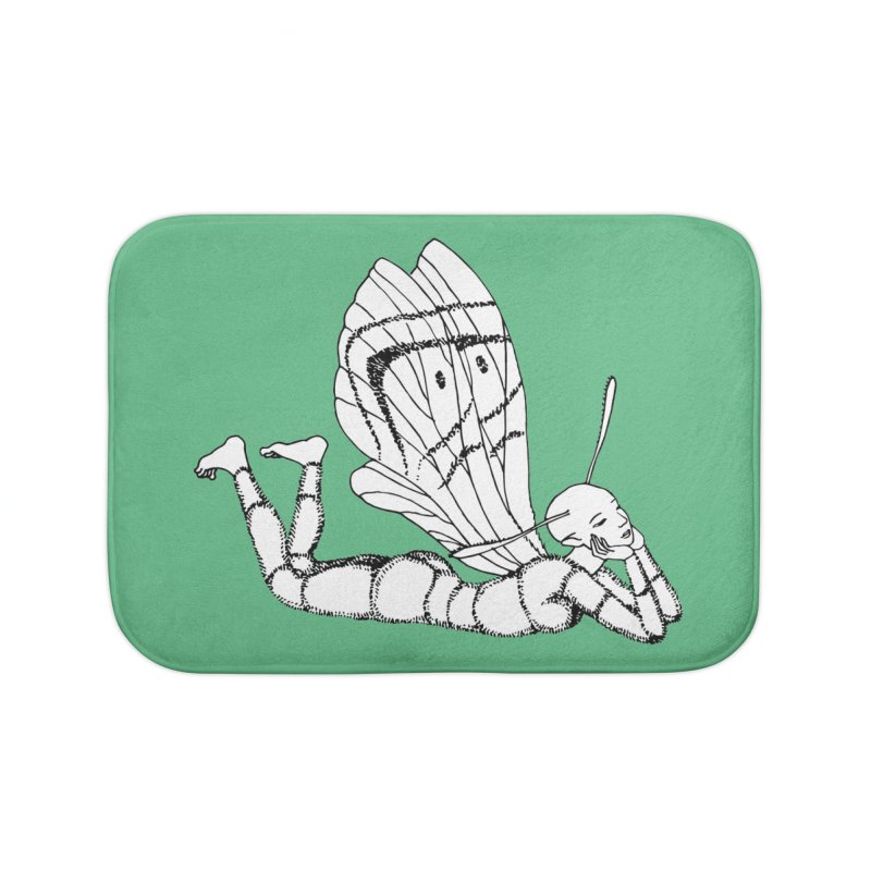 Can fly but didn't try Home Bath Mat by ShadoBado Artist Shop