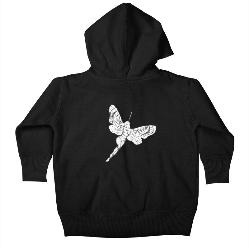Fly Kids Baby Zip-Up Hoody by ShadoBado Artist Shop