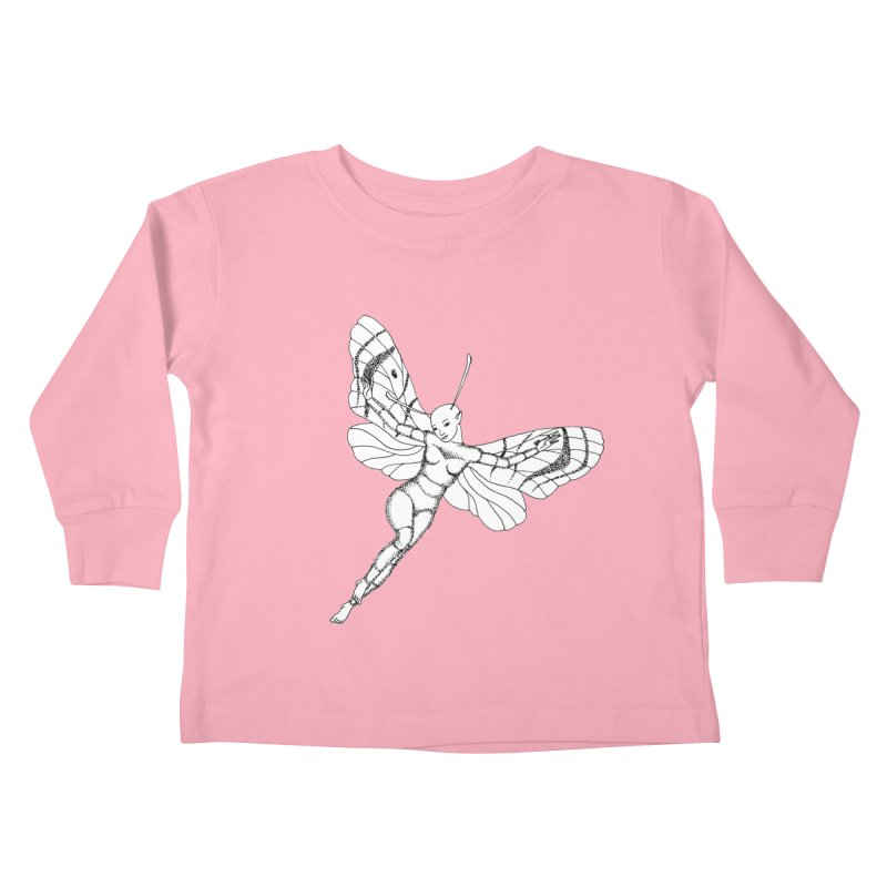 Fly Kids Toddler Longsleeve T-Shirt by ShadoBado Artist Shop