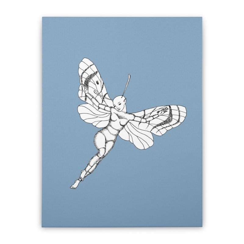 Fly Home Stretched Canvas by ShadoBado Artist Shop