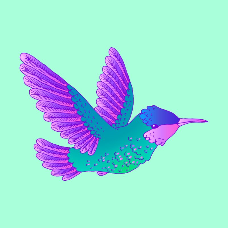 Hummingbird by ShadoBado Artist Shop