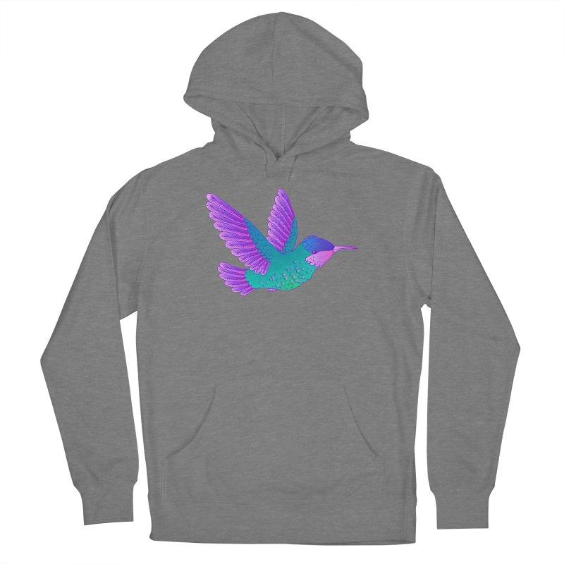 Hummingbird Women's Pullover Hoody by ShadoBado Artist Shop