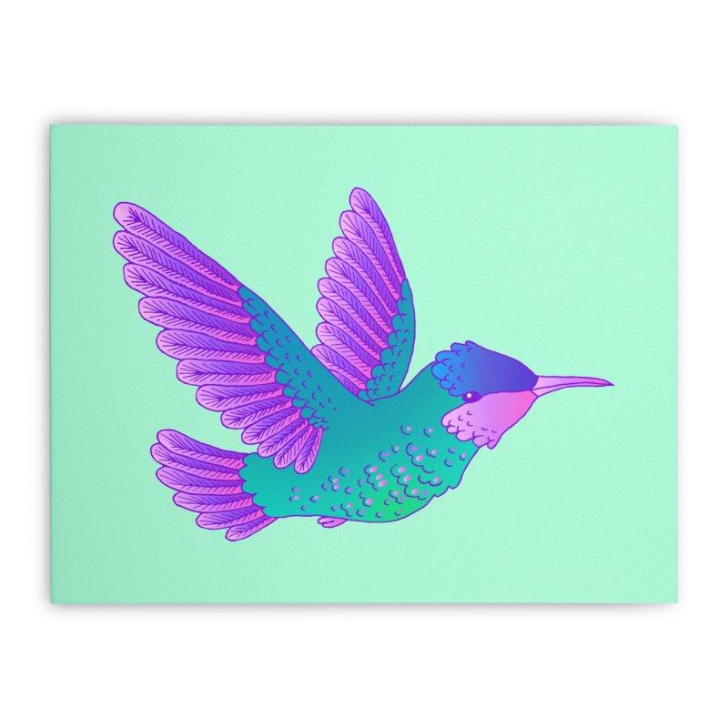 Hummingbird Home Stretched Canvas by ShadoBado Artist Shop