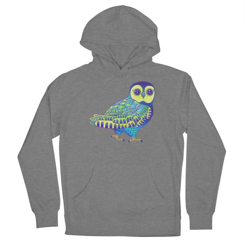 Owl Women's Pullover Hoody by ShadoBado Artist Shop