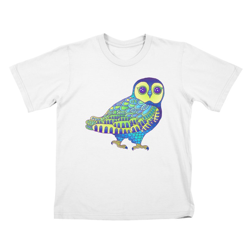 Owl Kids T-Shirt by ShadoBado Artist Shop