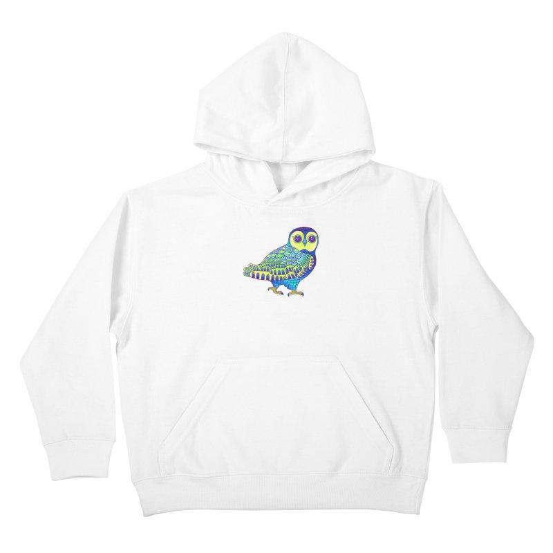 Owl Kids Pullover Hoody by ShadoBado Artist Shop