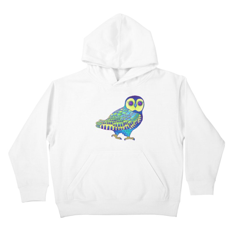 Owl Kids Pullover Hoody by ShadoBado Artist Shop