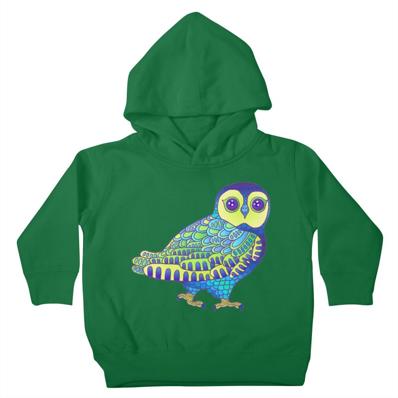 Owl Kids Toddler Pullover Hoody by ShadoBado Artist Shop