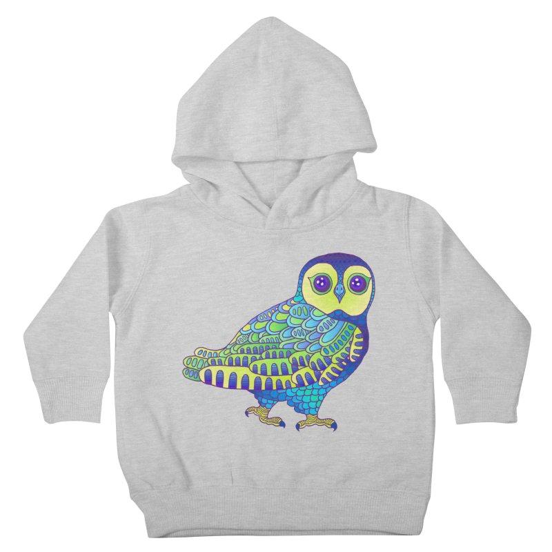 Owl Kids Toddler Pullover Hoody by ShadoBado Artist Shop